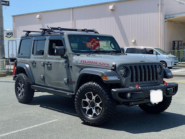 Jeep Wrangler Rubicon カスタム入りました!