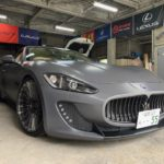 Maserati グラントゥーリズモ レーダー取付