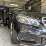 MercedesBenz Eクラス(W212)ブレーキパッド交換