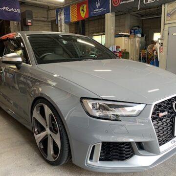 AUDI RS3 カスタム
